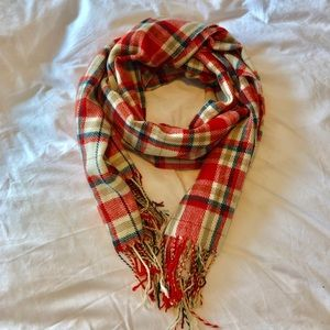Plaid JCrew Scarf